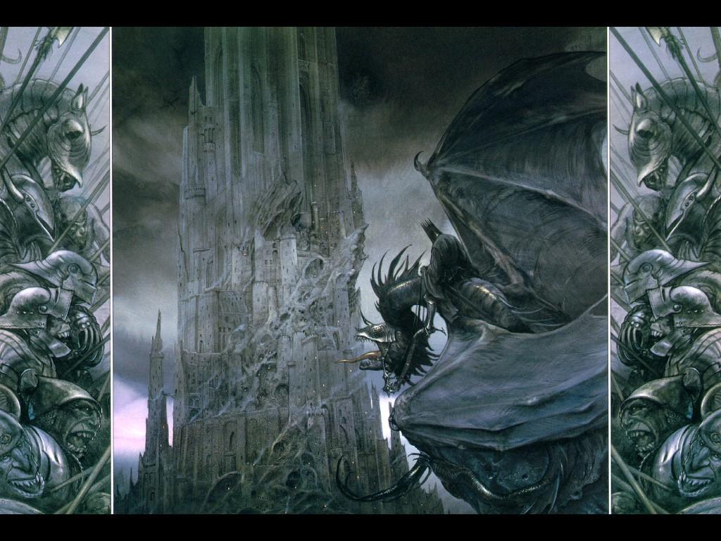 Fantasy Wallpaper: Dark Tower of Sauron