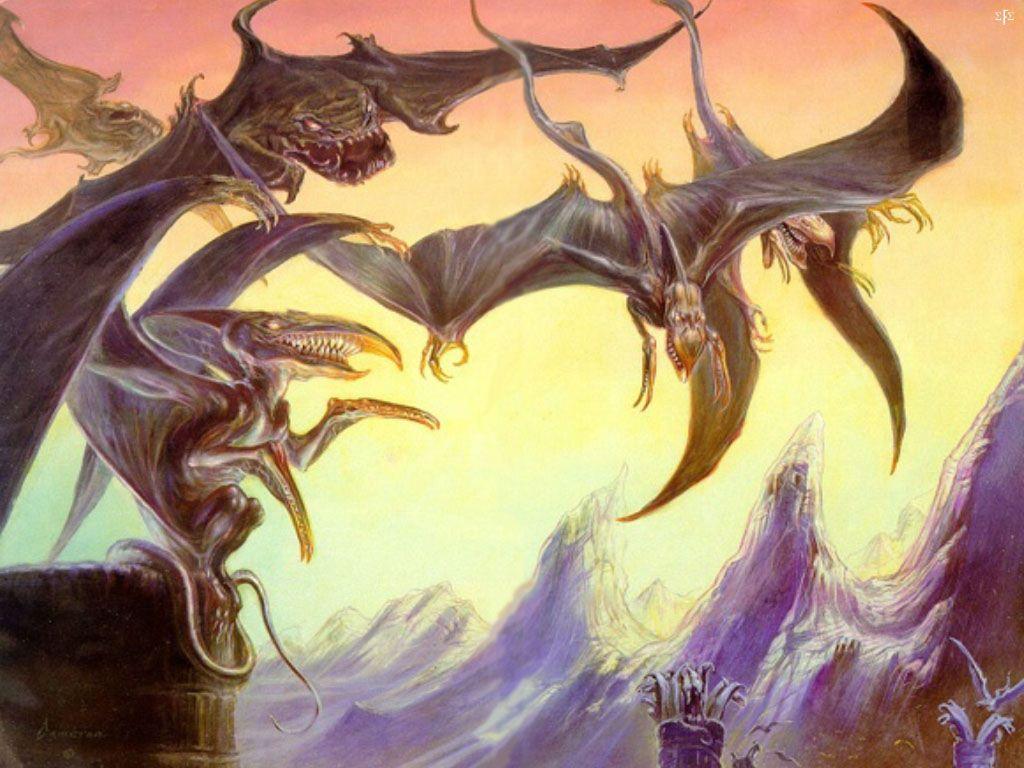 Fantasy Wallpaper: Dark Tower - The Wastelands