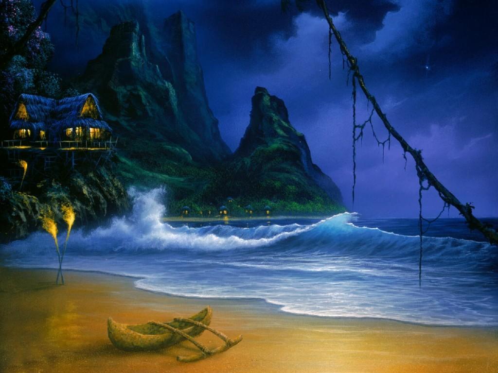 Fantasy Wallpaper: David C. Miller - Magical Moment