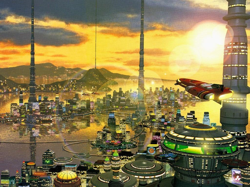 Fantasy Wallpaper: David Mattingly - Future City