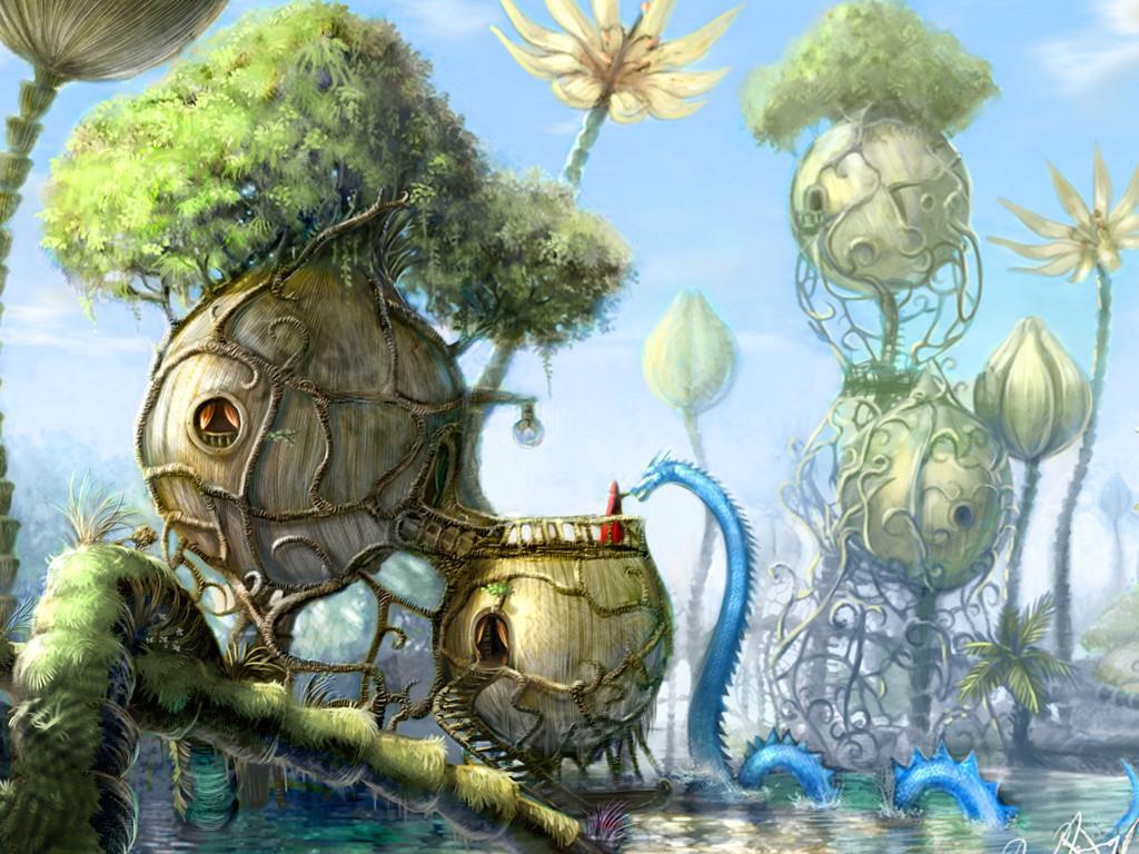Fantasy Wallpaper: Fantasy Land