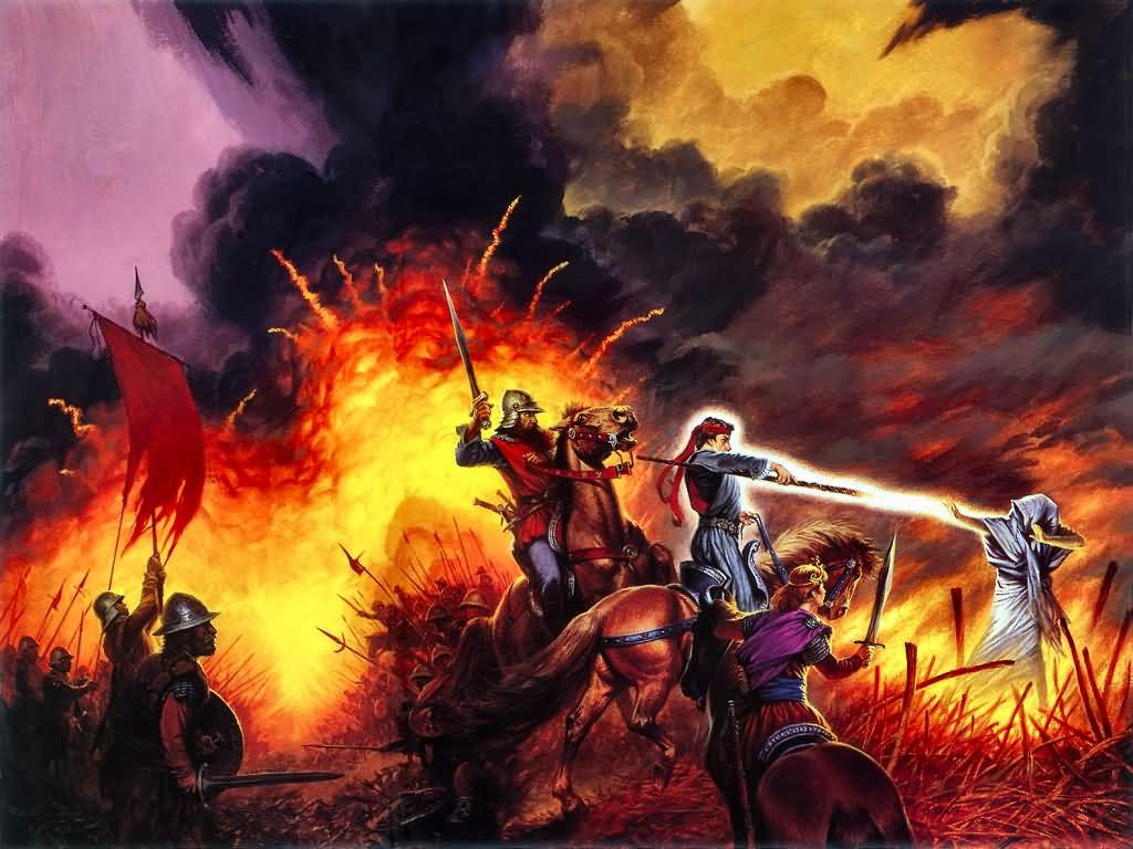 Fantasy Wallpaper: Death of Chaos