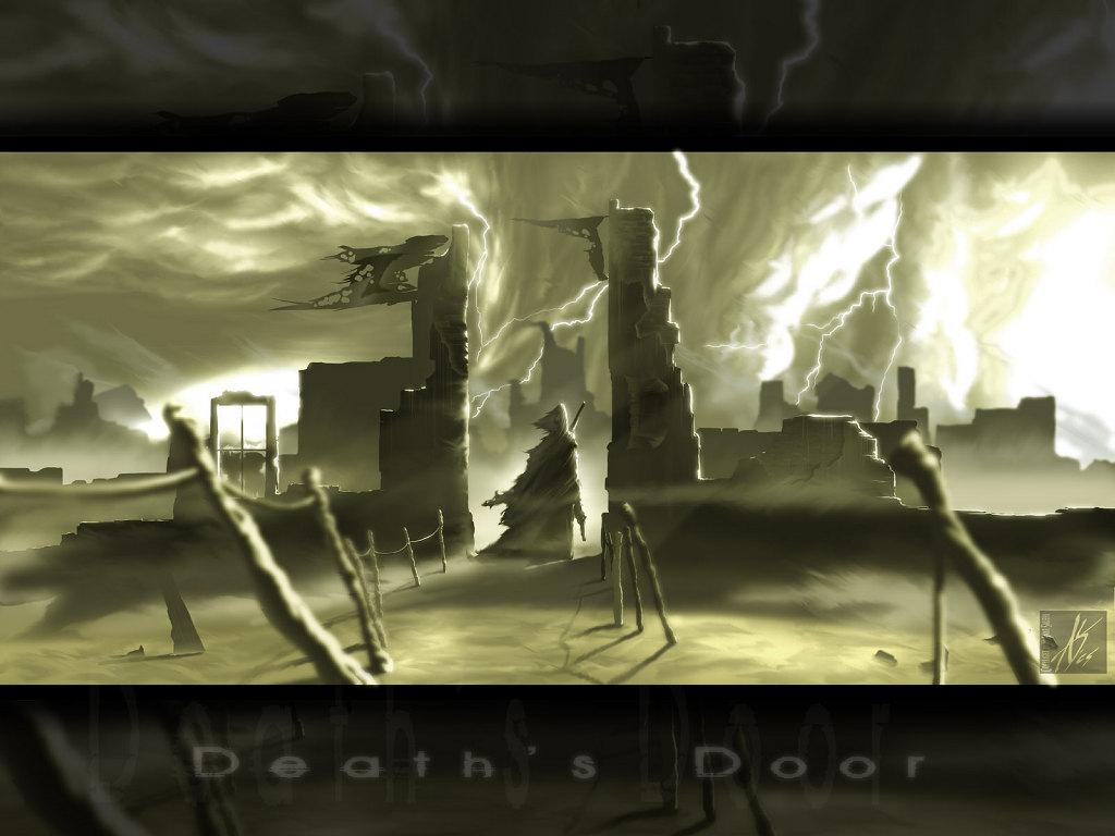 Fantasy Wallpaper: Death's Door