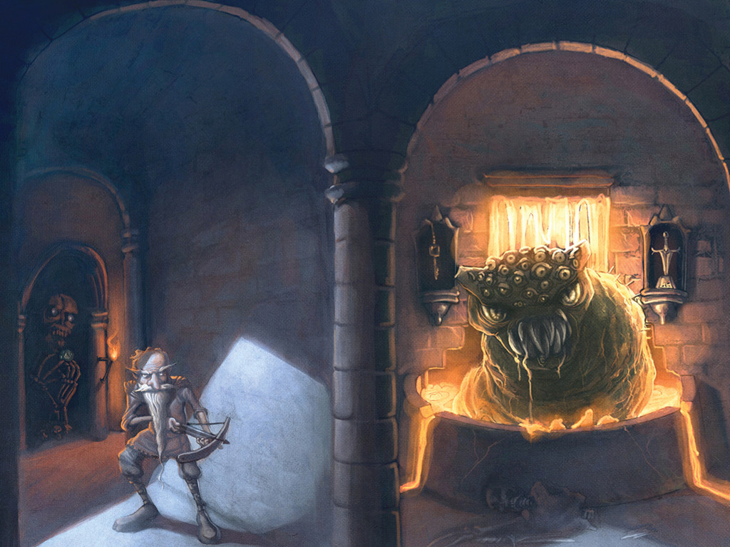 Fantasy Wallpaper: Deathtrap Dungeon