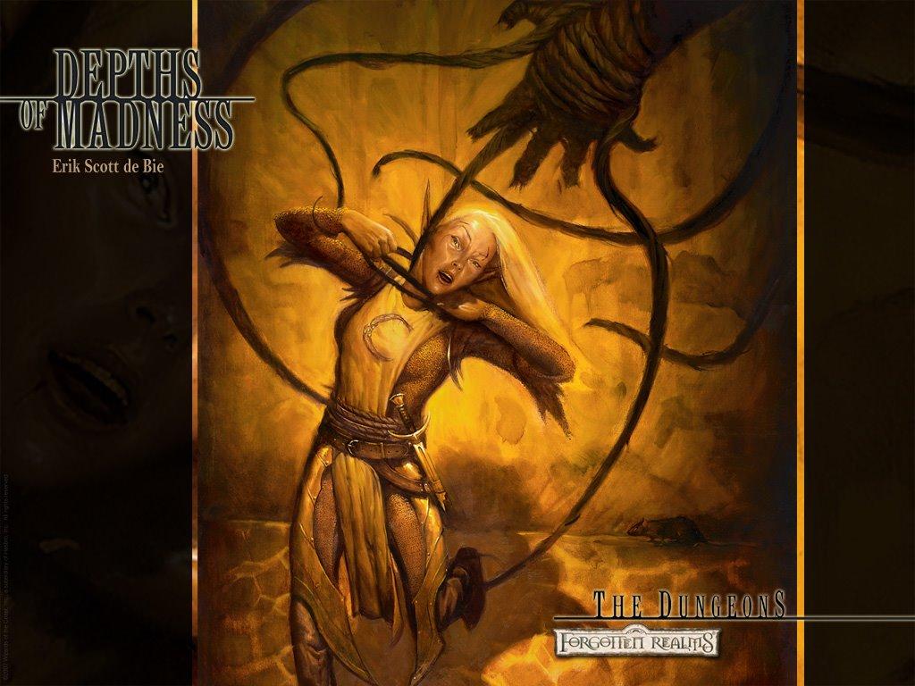 Fantasy Wallpaper: Depths of Madness