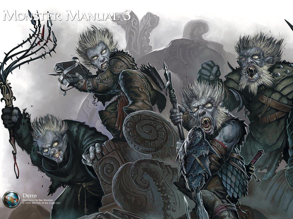 Fantasy Wallpaper: Monster Manual 3 - Derro