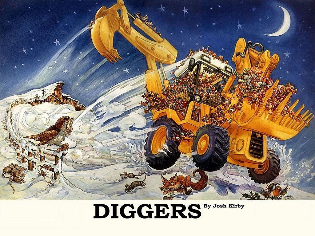 Fantasy Wallpaper: Discworld - Diggers