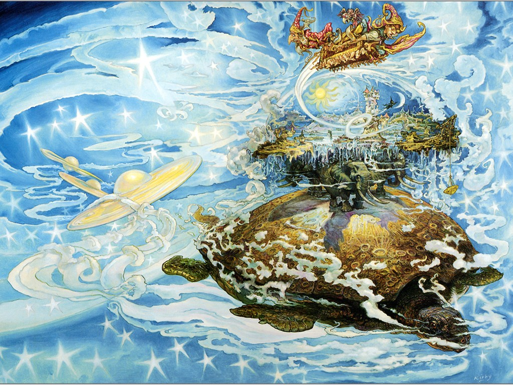 Fantasy Wallpaper: Discworld - Great A'Tuin
