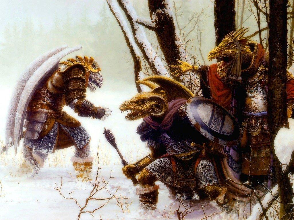 Fantasy Wallpaper: Draconians