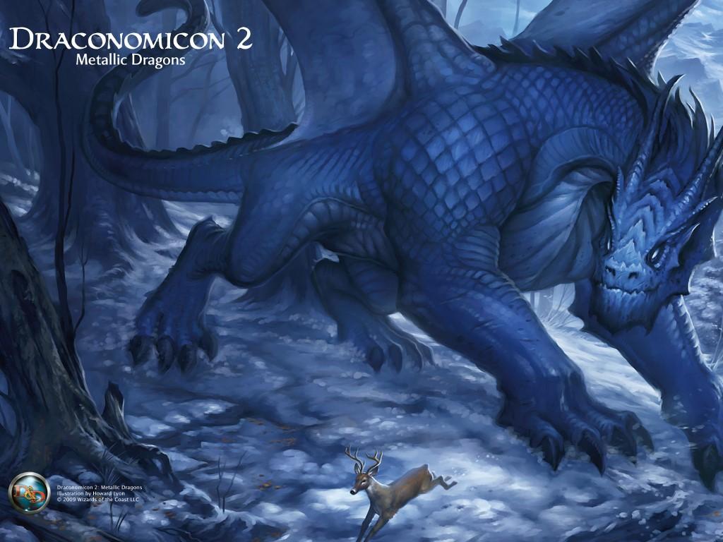 Fantasy Wallpaper: Draconomicon 2