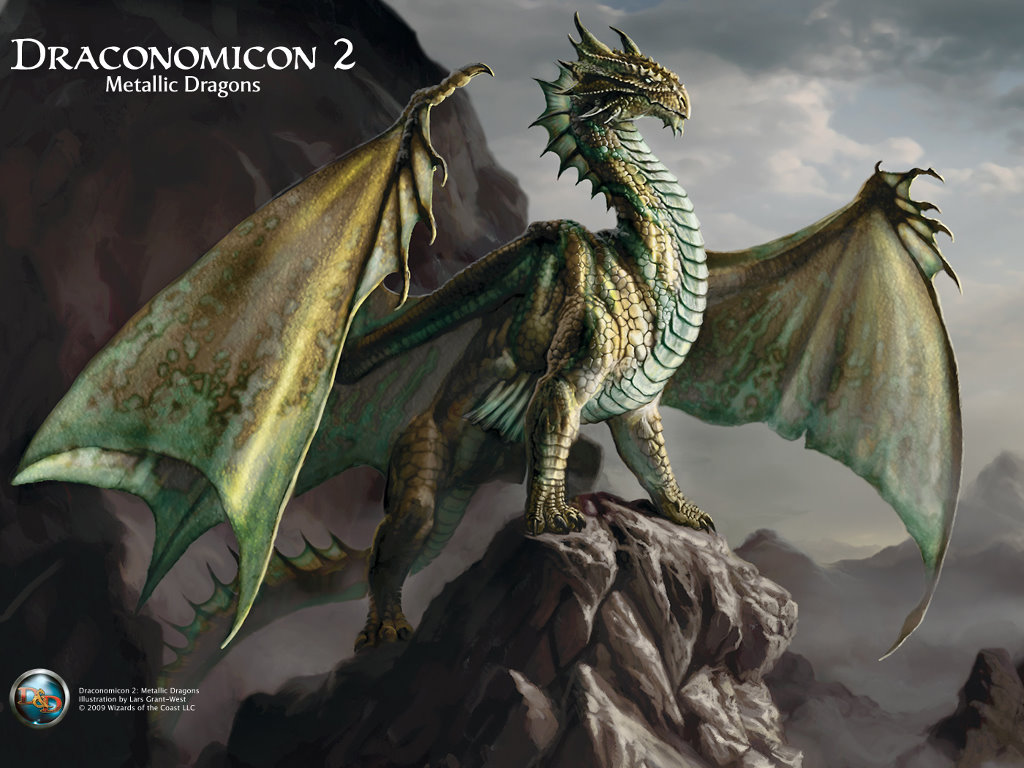 Fantasy Wallpaper: Draconomicon