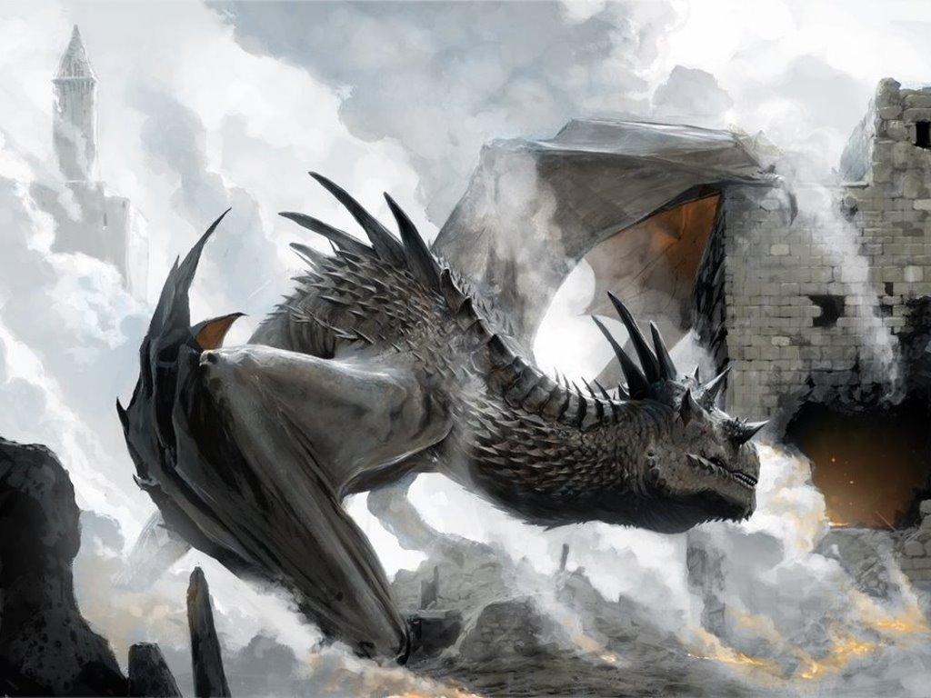 Fantasy Wallpaper: Dragon (by Chase)
