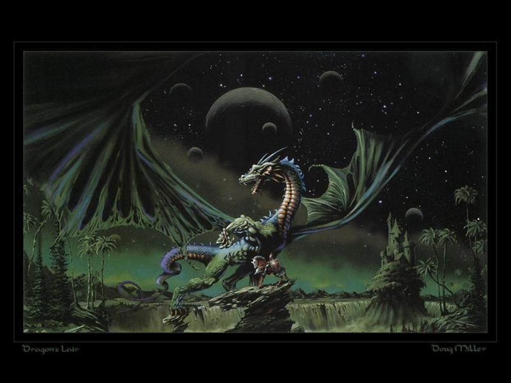 Fantasy Wallpaper: Dragon