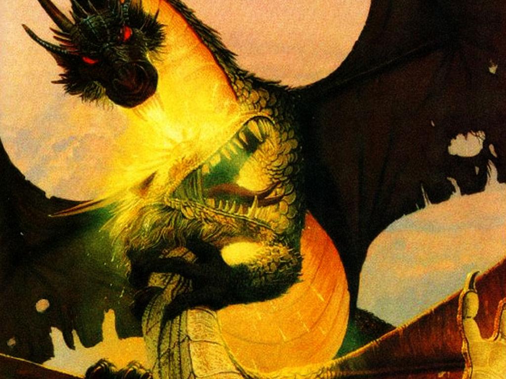 Fantasy Wallpaper: Dragons