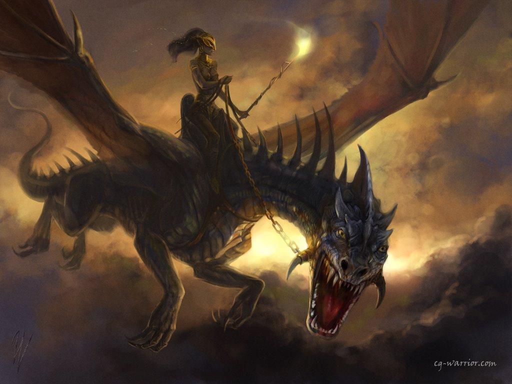 Fantasy Wallpaper: Dragoness