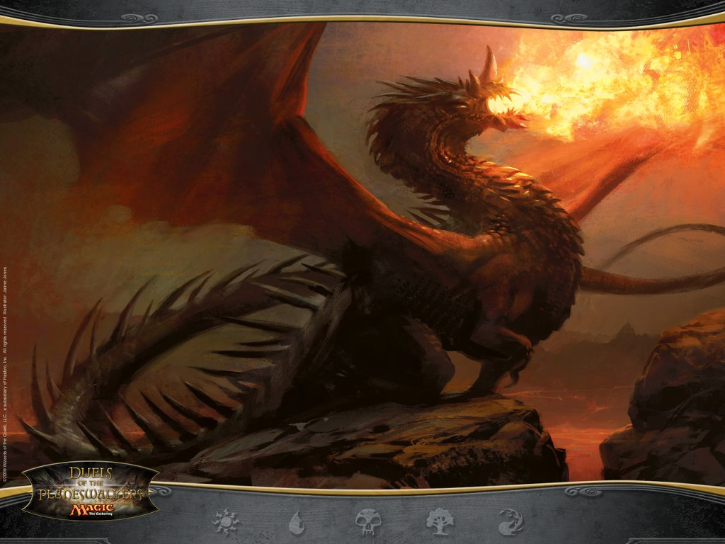 Fantasy Wallpaper: Magic the Gathering - Duel of the Planeswalkers