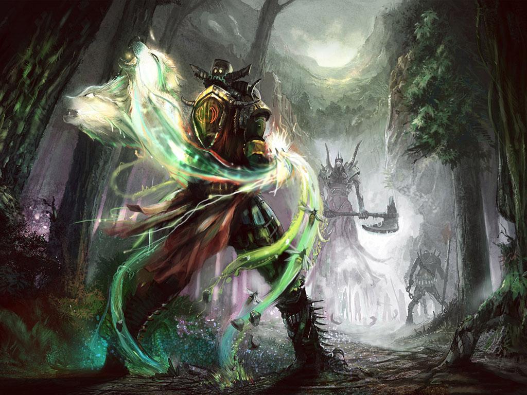 Fantasy Wallpaper: Duel
