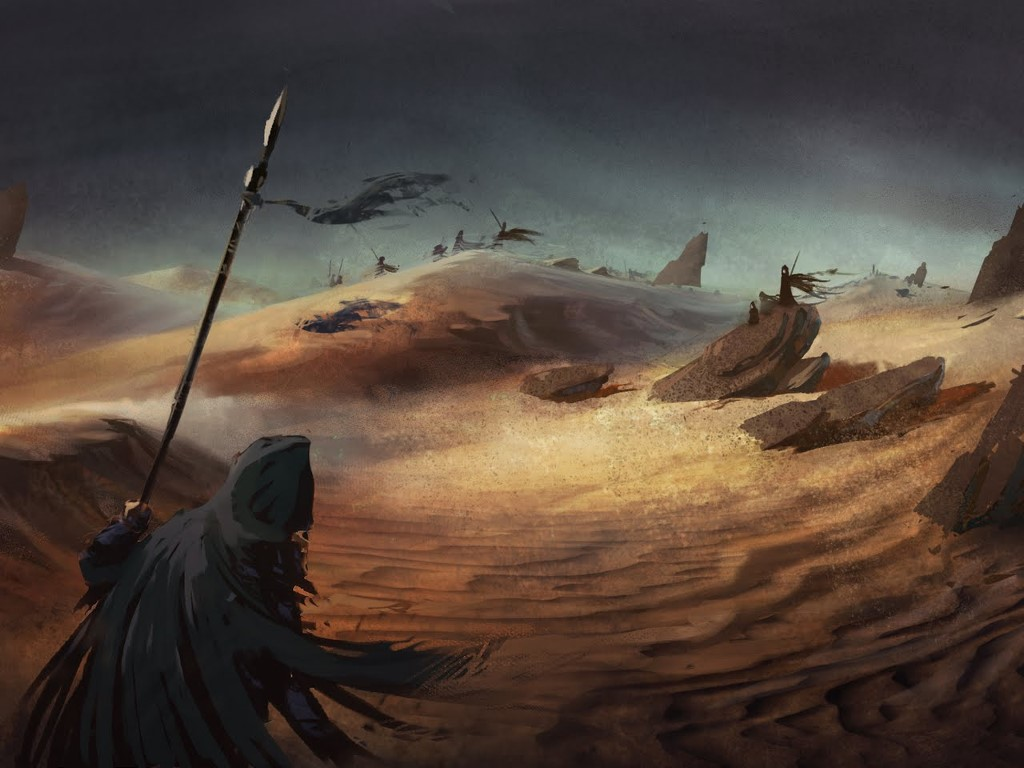 Fantasy Wallpaper: Dune