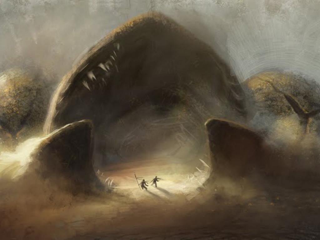 Fantasy Wallpaper: Dune - Worm