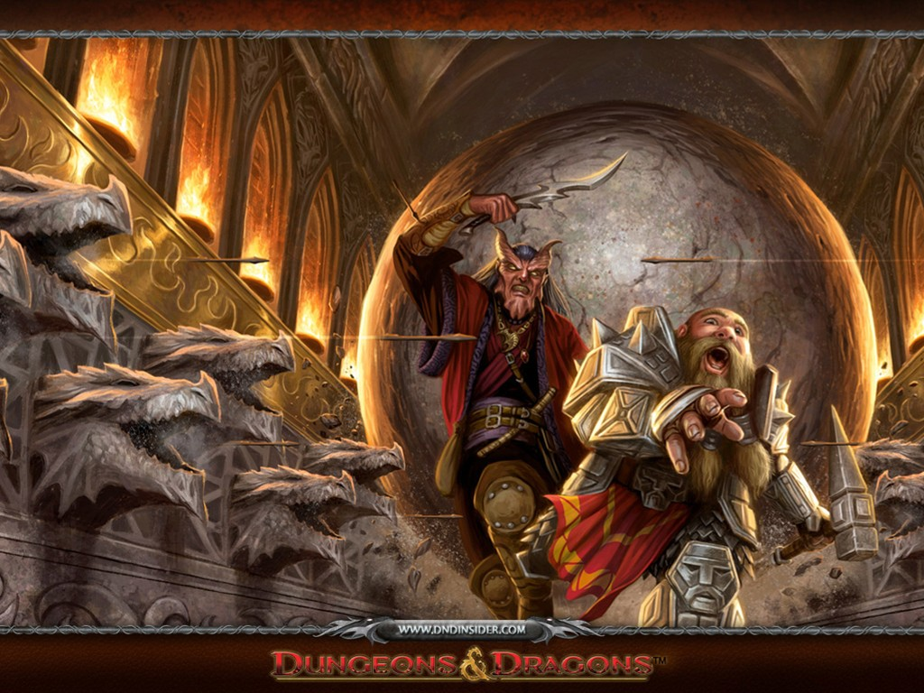 Fantasy Wallpaper: Dungeons and Dragons - Traps