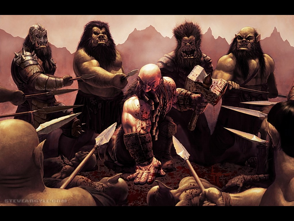 Fantasy Wallpaper: Dwarf Warrior