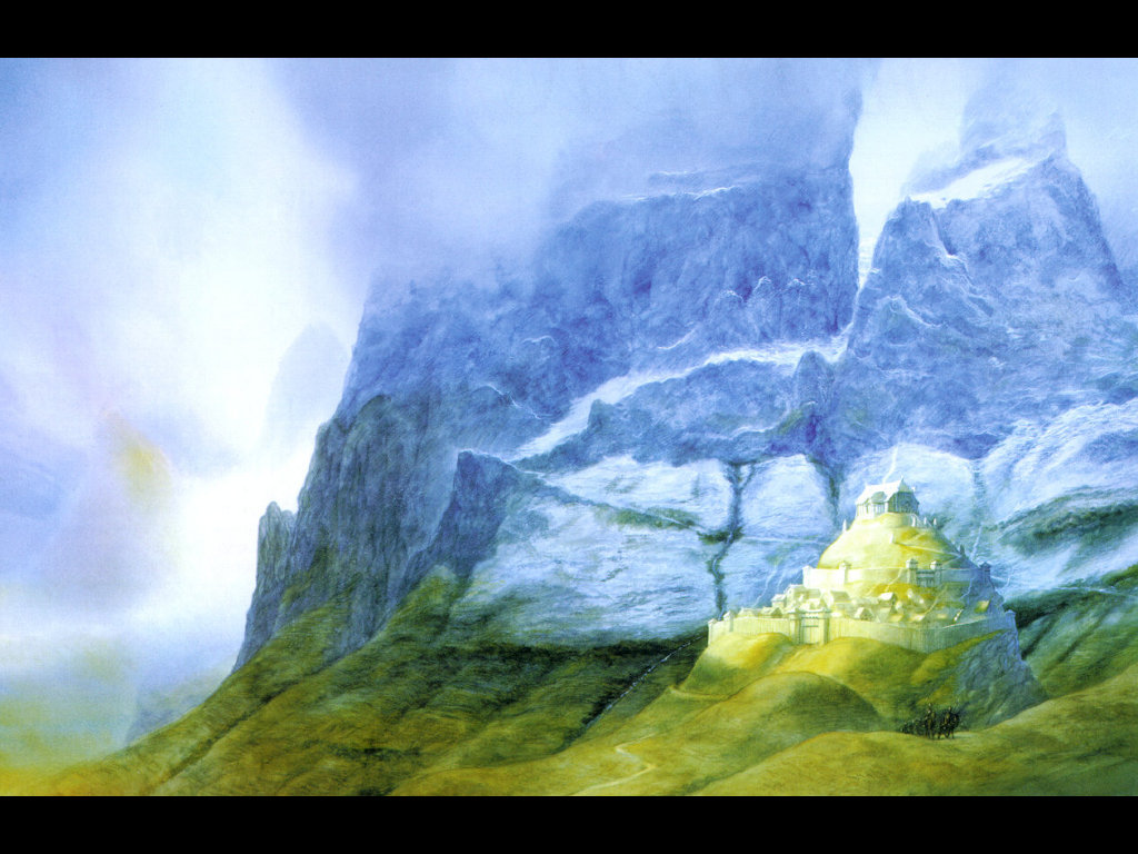 Fantasy Wallpaper: Edoras
