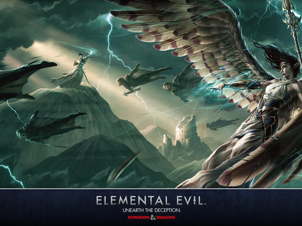 Fantasy Wallpaper: Elemental Evil