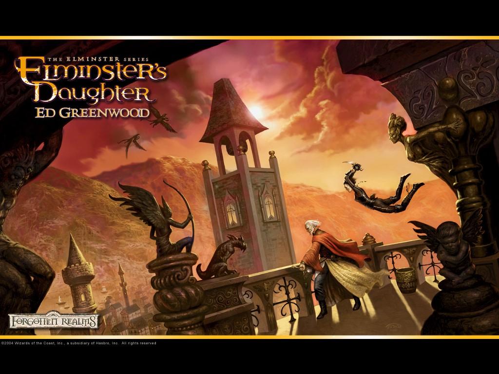 Fantasy Wallpaper: Elminster's Daughter