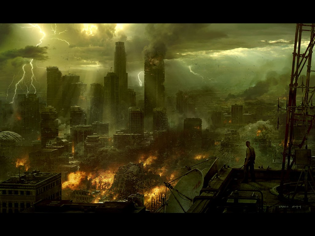 Fantasy Wallpaper: End of the World
