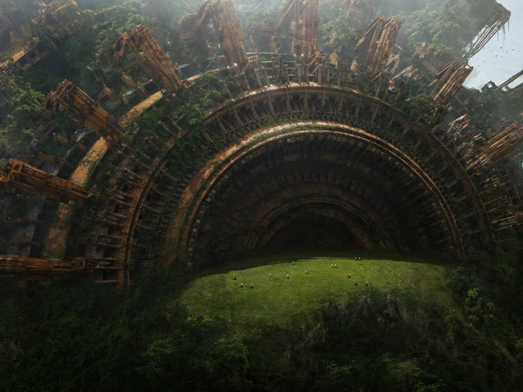 Fantasy Wallpaper: Epic Ruins