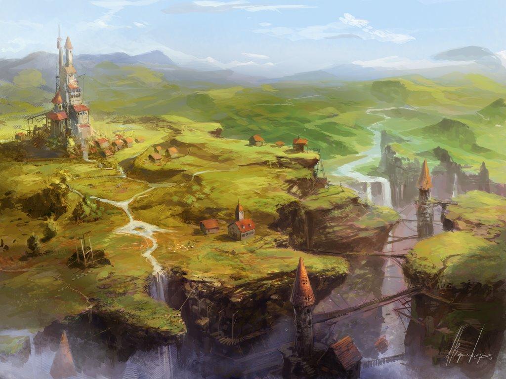 Fantasy Wallpaper: Espiraland