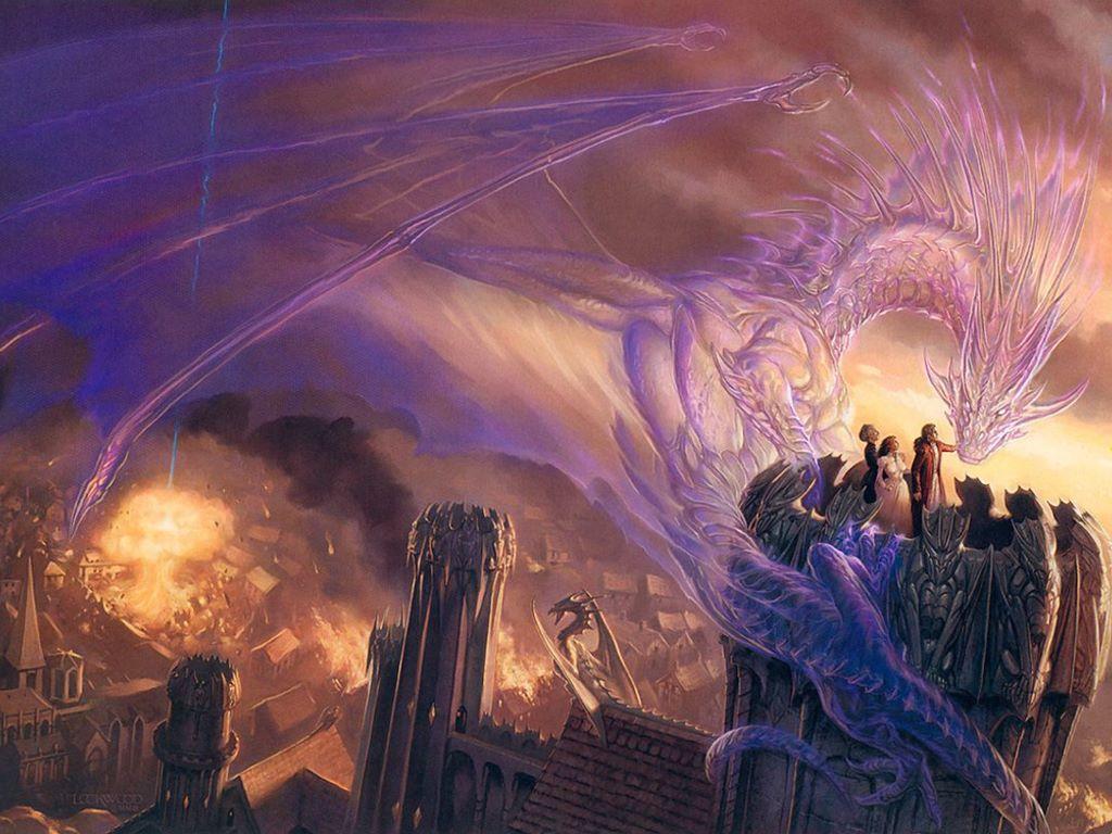 Fantasy Wallpaper: Ethereal Dragon