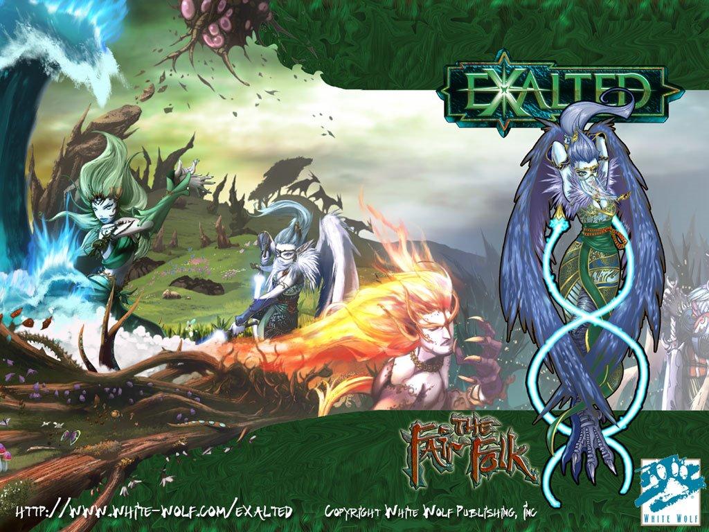 Fantasy Wallpaper: Exalted - The Fair Folk