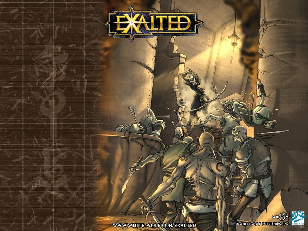 Fantasy Wallpaper: Exalted