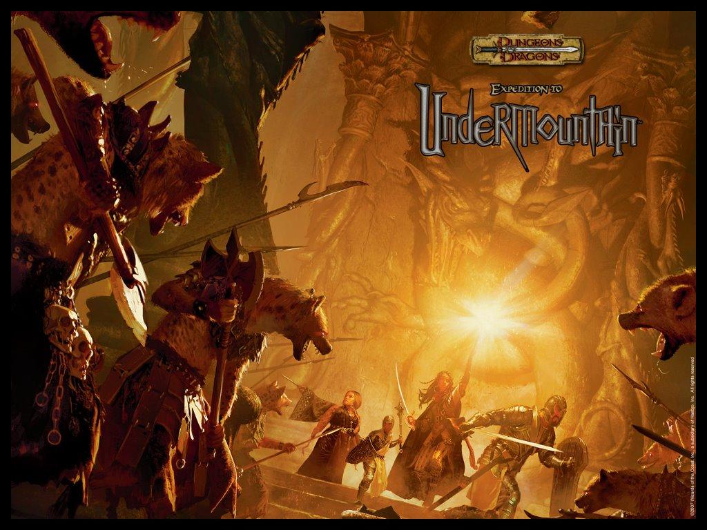 Fantasy Wallpaper: Expedition to Undermountain