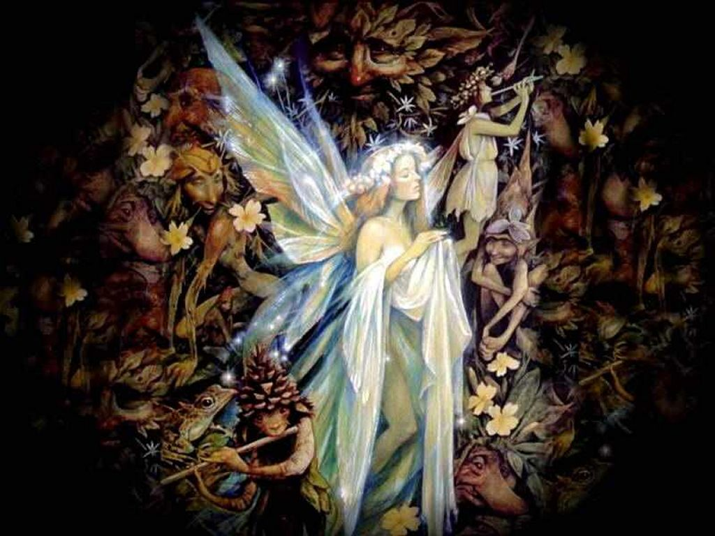 Fantasy Wallpaper: Faery Dreams