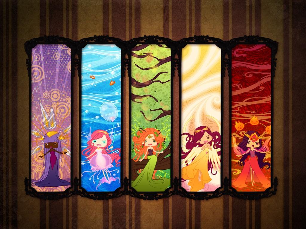 Fantasy Wallpaper: Fairies - Elementals