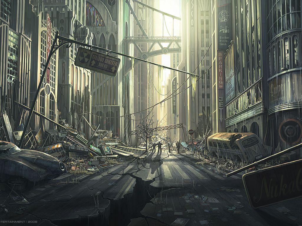 Fantasy Wallpaper: Fallout Street