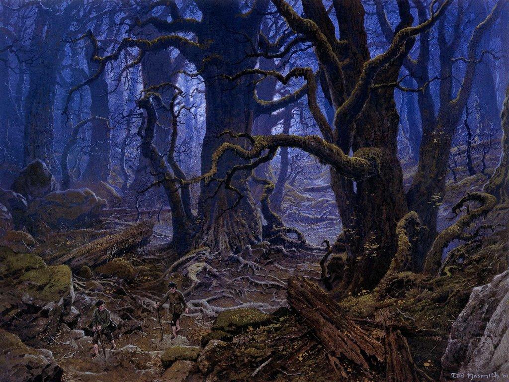 Fantasy Wallpaper: Fangorn Forest