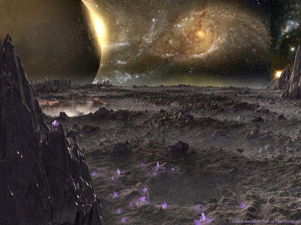 Fantasy Wallpaper: Far in the Universe