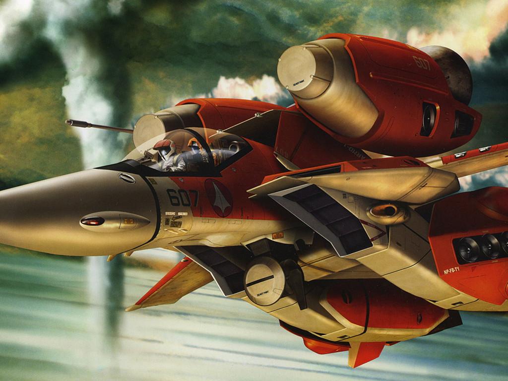 Fantasy Wallpaper: Flying Mecha