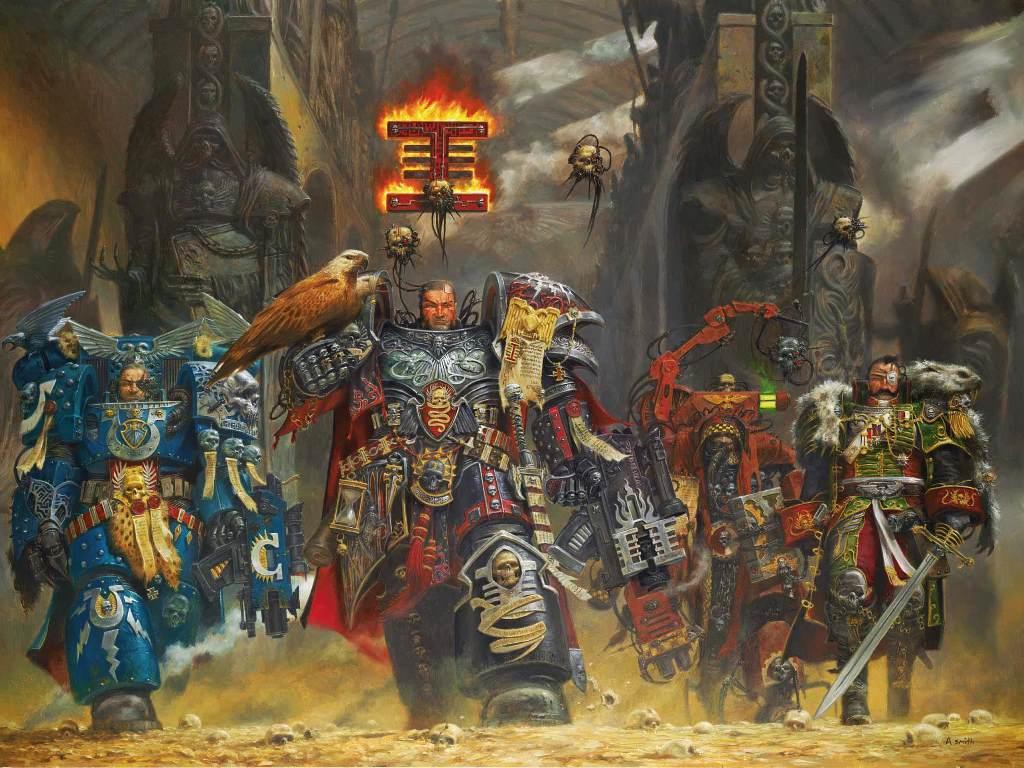 Fantasy Wallpaper: For the Emperor!