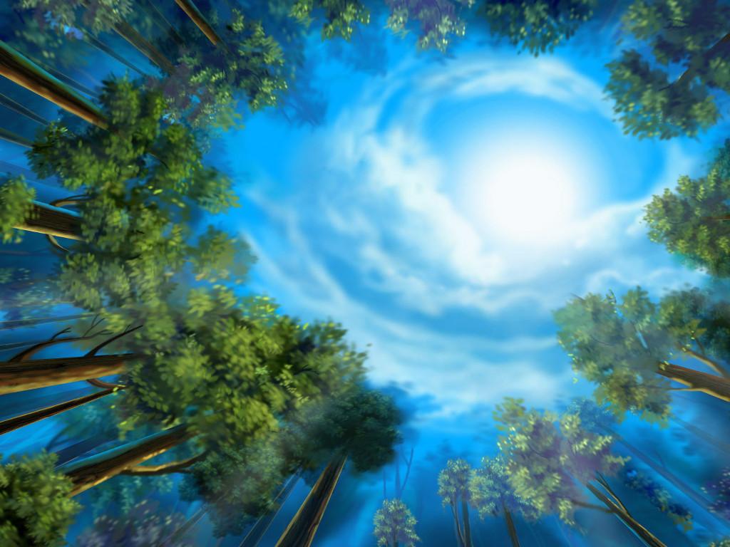 Fantasy Wallpaper: Forest Dreams