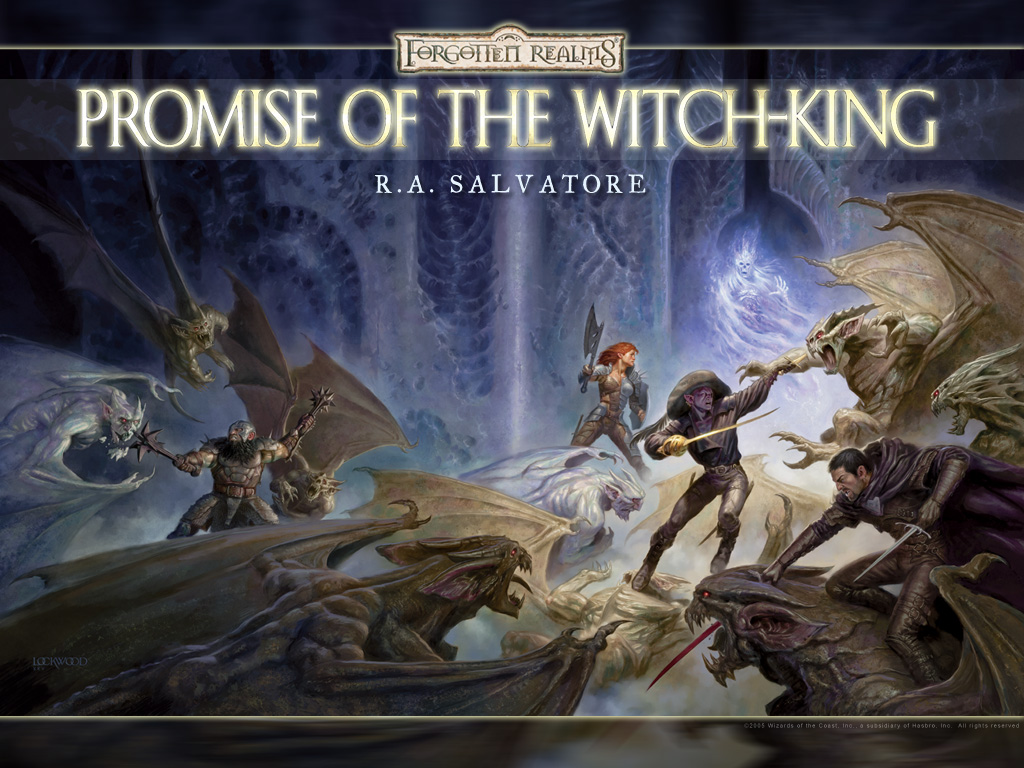 Fantasy Wallpaper: Forgotten Realms - Promise of the Witch-King