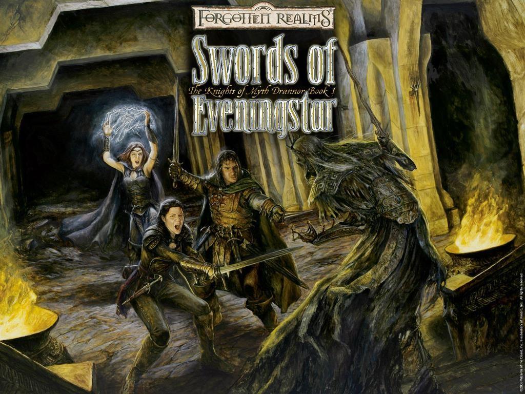Fantasy Wallpaper: Forgotten Realms - Swords of Eveningstar