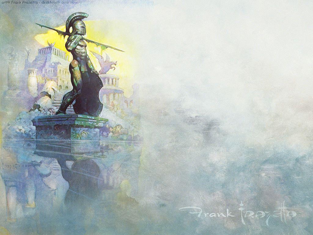 Fantasy Wallpaper: Frank Frazetta - Atlantis