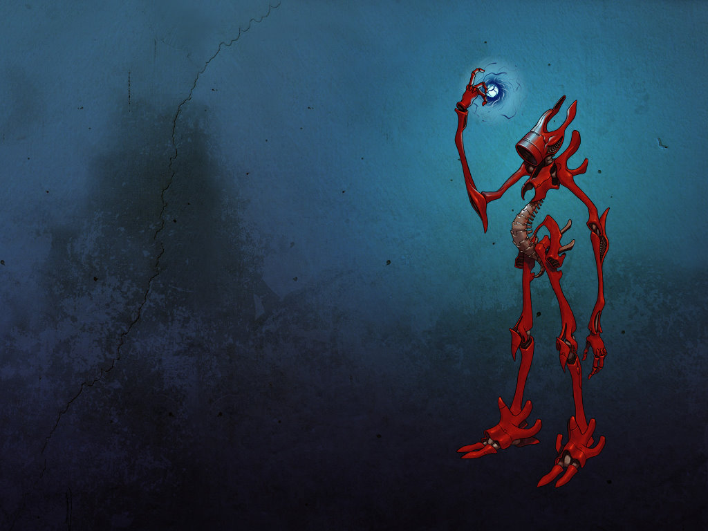 Fantasy Wallpaper: Freakbot