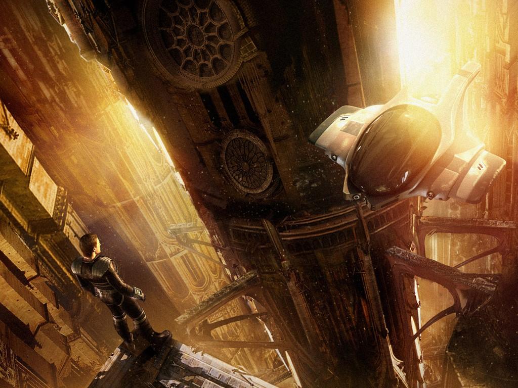 Fantasy Wallpaper: Future Cathedral