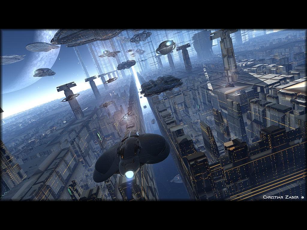 Fantasy Wallpaper: Future City
