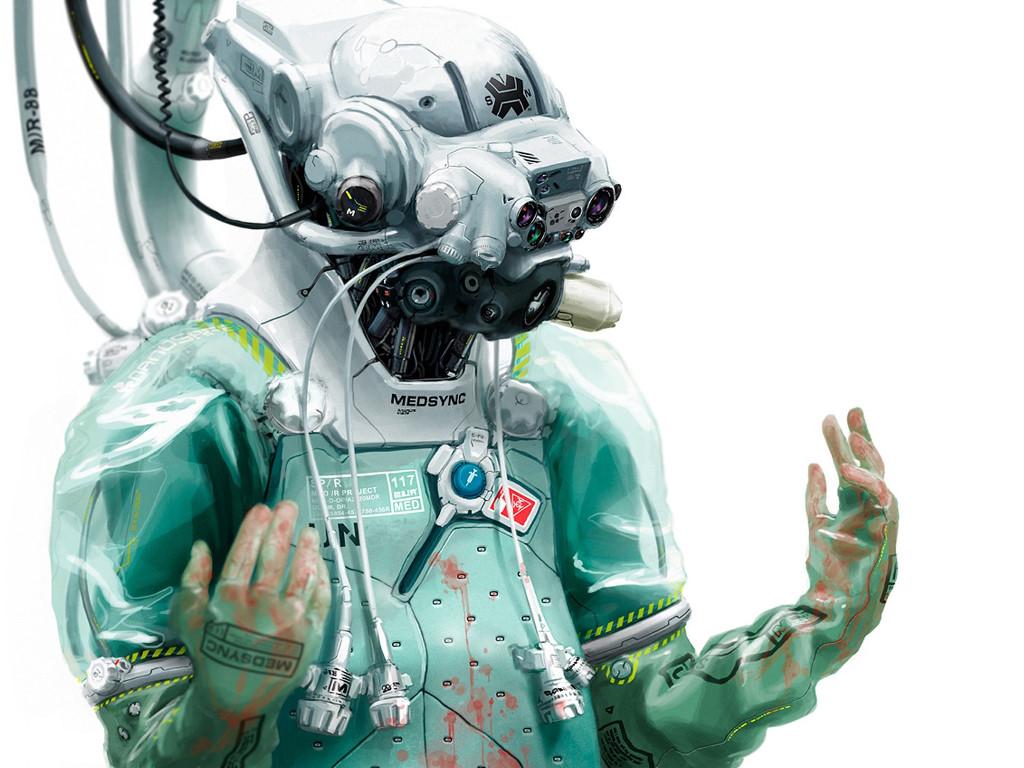 Fantasy Wallpaper: Future Surgeon